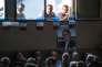 « Peut-être même pourrons-nous entamer une discussion et concevoir des projets communs, pour notre pays et pour nos enfants. Et ça, ce n'est pas de l'utopie» (Photo: meeting de Gilbert Collard, candidat FN aux législatives dans le Gard en compagnie de Marion Maréchal-Le Pen et Julien Sanchez, dans le village de Le Cailar).