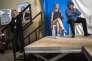Meeting de Gilbert Collard, candidat Front National aux elections legislatives dans le Gard en compagnie de Marion Marechal Le Pen et Julien Sanchez, dans le village de Le Cailar dans le Gard.Le 14/06/2017