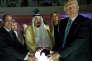 Le monarque saoudien et les présidents égyptien et américain, lors de l'inauguration d'un centre international contre l'extrémisme à Riyad, le 21 mai.