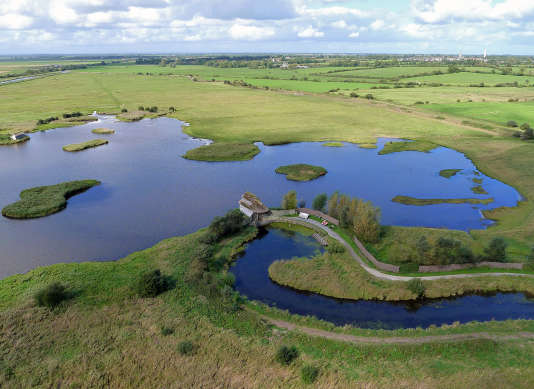 Le Marais du Cotentin et ses paysages apaisants.