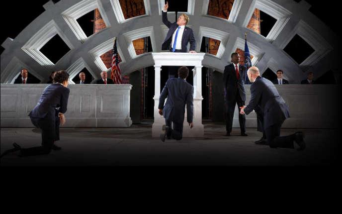 Le Jules César d'Oskar Eustis ressemble au 45e président américain.