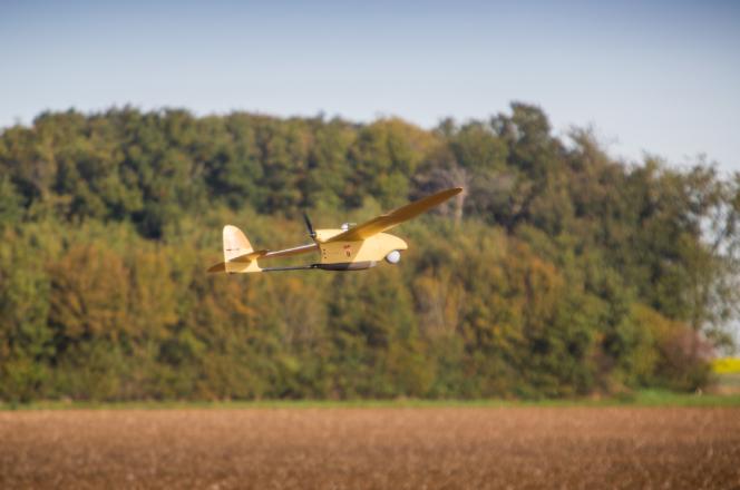Le SpyRanger de Thales est un minidrone qui va équiper l'armée française.