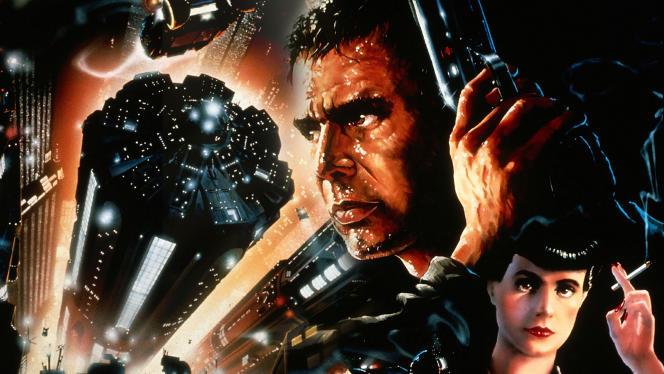L'affiche du film« Blade Runner».