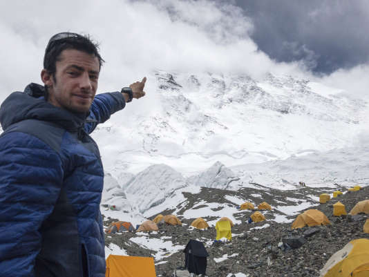 Kilian Jornet , before you climb Everest.