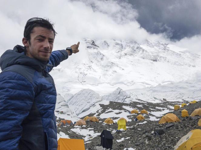 Kilian Jornet , avant de gravir l'Everest.