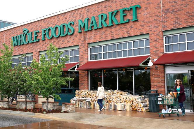 Un supermarché Whole Foods, à Boulder, dans le Colorado (Etats-Unis).