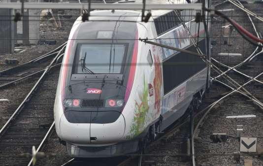 «L'Océane», la nouvelle ligne à grande vitesse reliant Bordeaux à Paris.