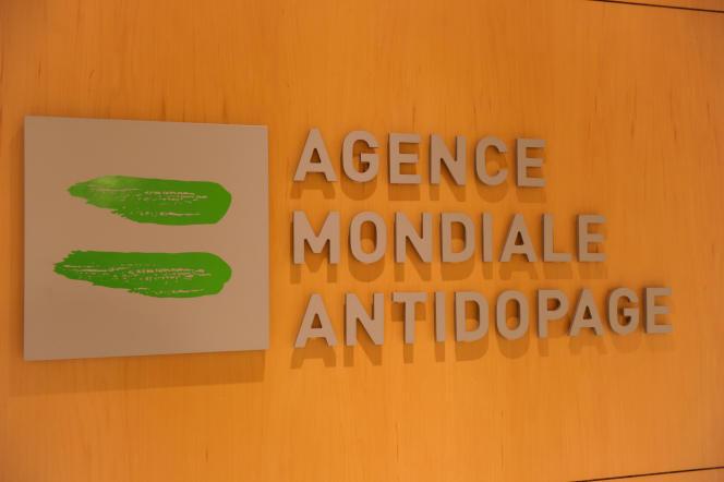 Logo de l'Agence mondiale antidopage.