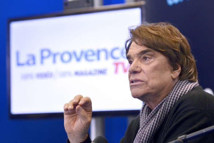 Bernard Tapie, en mars 2014.