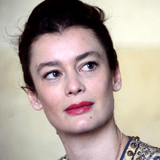Aurelie Dupont le 15 avril 2015 à Paris