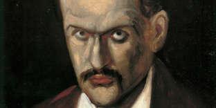 «Autoportrait de Paul Cé́zanne» (1862-1864), huile sur toile (46,4 × 38,3 cm).
