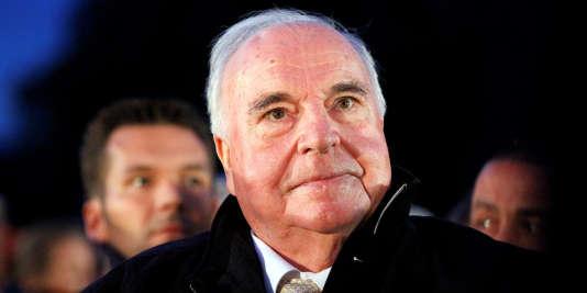 Helmut Kohl, le 30 août 2010.