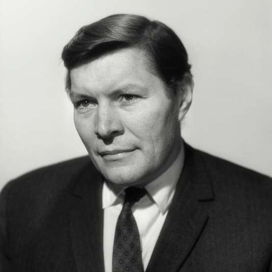 Le professeur Christian Cabrol, en 1968.
