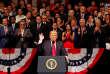 Le président américain Donald Trump explique sa politique cubaine, à Miami, enFloride, aux Etats-Unis, le 16 juin 2017.