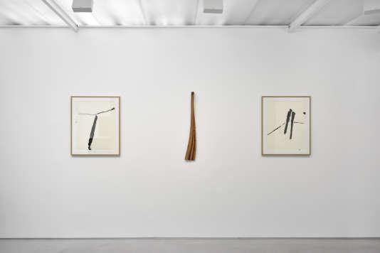 «L'état de nature: Toni Grand, Pierre Tal Coat», à la galerie Christophe Gaillard, à Paris.
