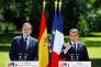 Emmanuel Macron a reçu le premier ministre espagnol, Mariano Rajoy, à l'Elysée, vendredi 16 juin.