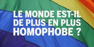 La situation de l'homophobie résumée en chiffres.