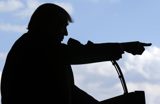Le président américain Donald Trump à Sigonella (Italie), le 27 mai.