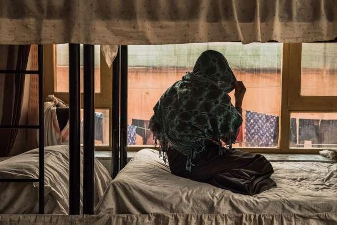 Un refuge accueille des femmes victimes de viols ou de mariages forcés, à Kaboul (Afghanistan), le 20 mars.