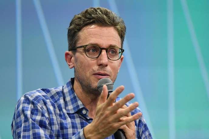 Jonah Peretti, cofondateur de BuzzFeed, le 15 juin à Paris.