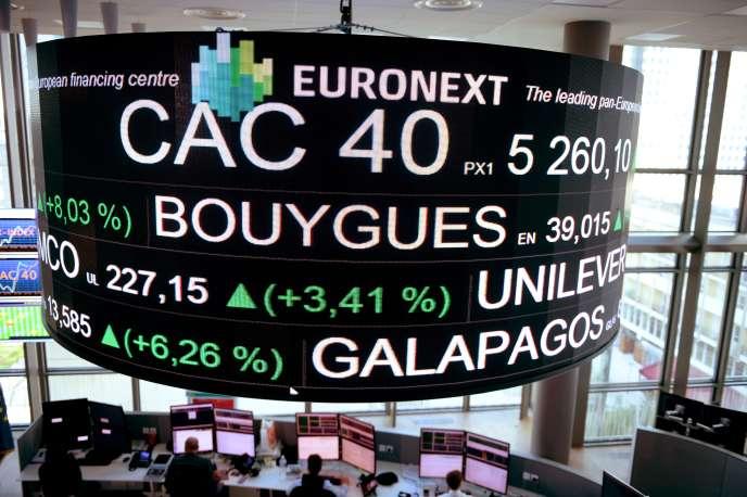 L'indice américain S&P 500 a fini le mois d'août à un niveau supérieur de 2 % à celui de la fin juin, quand le CAC 40 a fléchi de 0,7 %.
