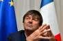 Le ministre de l'environnement Nicolas Hulot au sommet du G7 à Bologne (Italie), le 12 juin.
