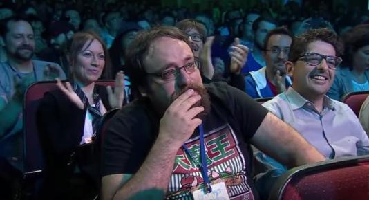 Davide Soliani, submergé par l'émotion lors de la présentation de son jeu à la conférence Ubisoft, a été l'une des images fortes de l'E3 2017.