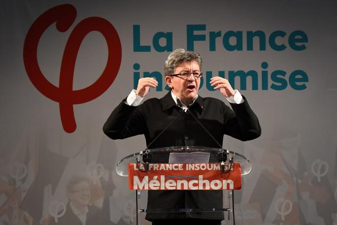Jean-Luc Mélenchon, à Marseille, le 18 juin.