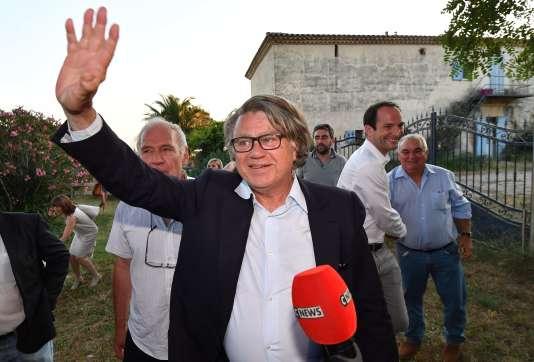 L'avocat Gilbert Collard, réélu député dans le Gard, le 18 juin.
