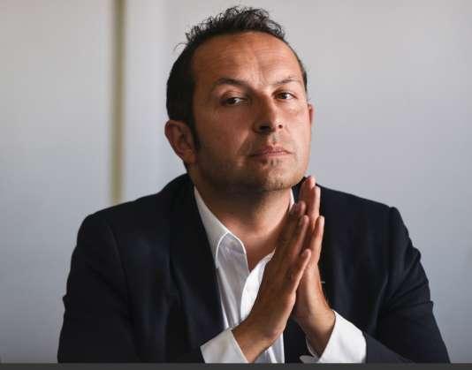 Sébastien Chenu, élu député dans la 19e circonscription du Nord.