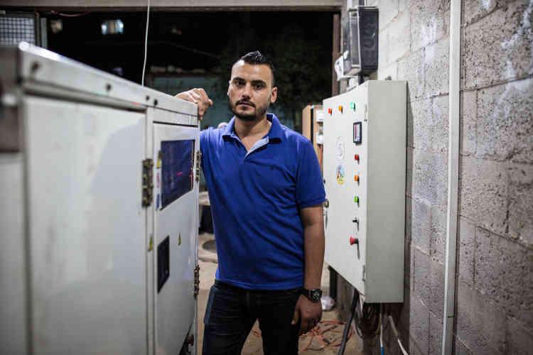 L'objectif de Rashad Ahmed est le même que celui de nombreux Gazaouis : contourner les privations d'électricité.