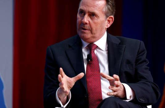 Liam Fox, ministre britannique du commerce international.