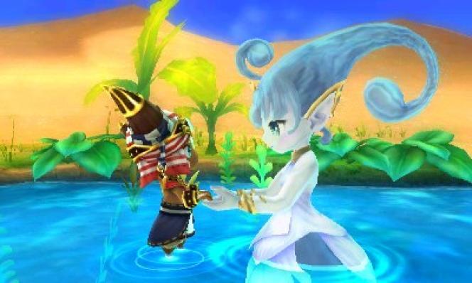 Esna, le dernier génie de l'eau, nous aidera à créer l'oasis.