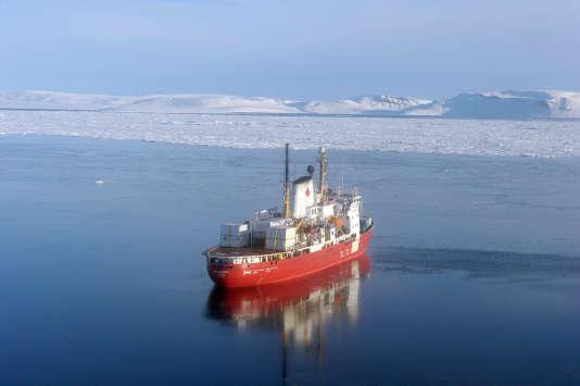 L'«Amundsen», en 2015.