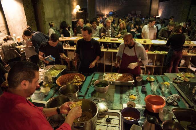 Le Refugee Food Festival a lieu cette année dans six pays d'Europe.