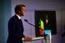 François Baroin, chef de file de la droite pour les élections législatives, prend la parole au soir du second tour, le 18 juin.
