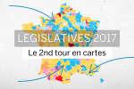 Législatives 2017 : le second tour expliqué en cartes