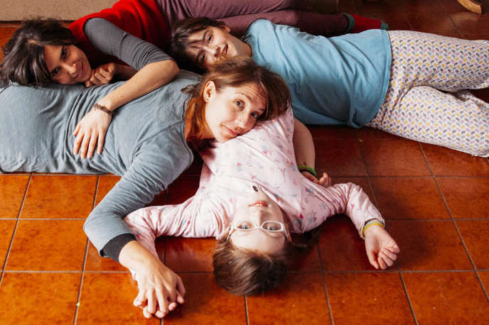 Mariana Loyola, Agustina Muñoz, Julia Lübbert et Emilia Ossandon dans le film chilien de Pepa San Martin,«Rara».