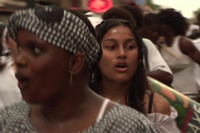 Une scène du documentaire français deXavier Gayan,«Rencontres en Guyane».