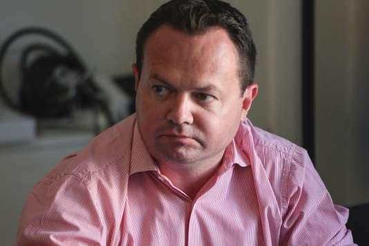 Bruno Bilde, élu député FN dans le Pas-de-Calais.