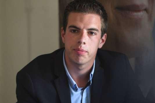 Ludovic Pajot, élu dans le Pas-de-Calais, sera, à 23 ans, le benjamin de l'Assemblée.