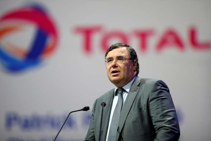 Patrick Pouyanné, patron de Total, le 2 juin 2015.
