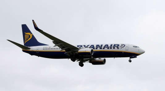 Un avion de la compagnie irlandaise Ryanair.