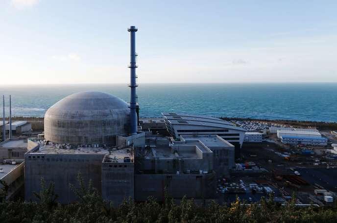 Le réacteur EPR de Flamanville (Manche), le 16 novembre 2016.