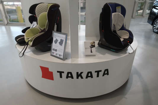 Sièges auto de Takata.