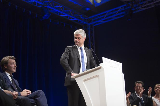 Laurent Wauquiez est le grand favori pour prendre la tête du parti LR en décembre.