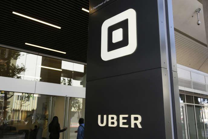 Siège de l'entreprise Uber, à San Francisco, le 21 juin.