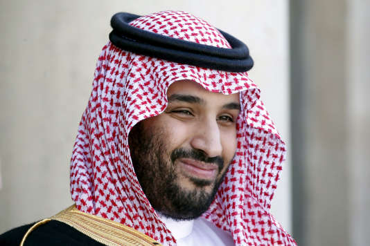 Le prince héritier saoudien, Mohammed Ben Salman, en juin 2015 à l'Elysée.