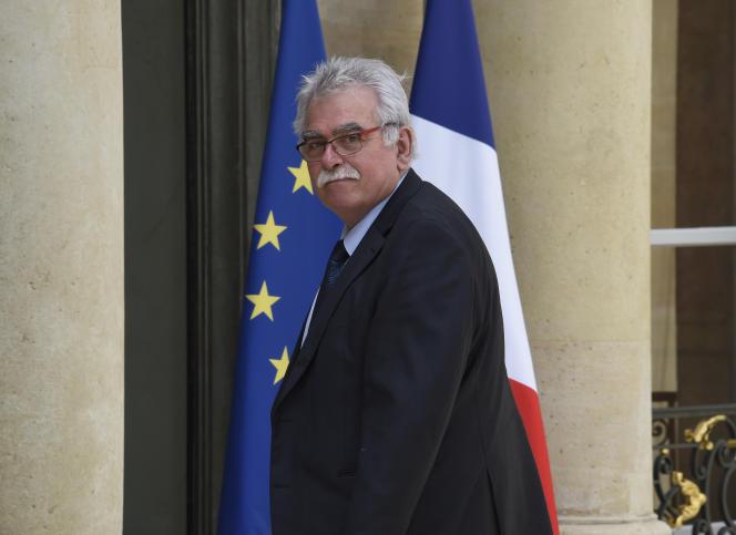 Le président du groupe communiste à l'Assemblée nationale entre 2012 et 2017, André Chassaigne.
