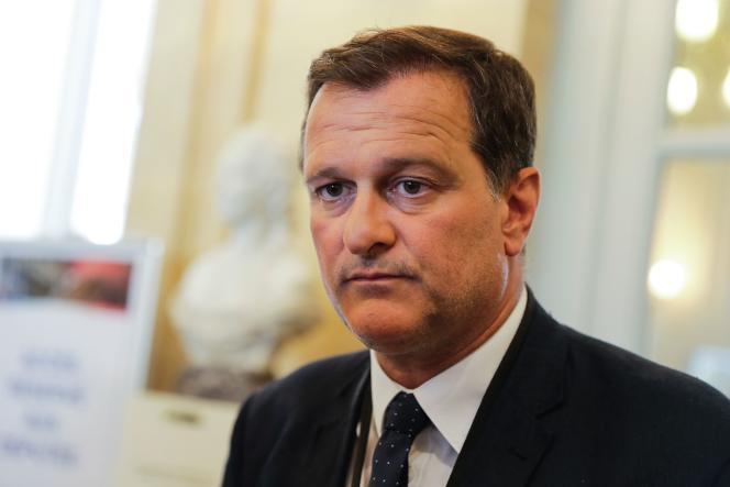 Louis Aliot, le 21 juin, à l'Assemblée nationale.